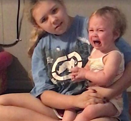 Little Girl Stops Crying When She Hears Marvin Gaye's 'Let's Get It