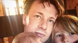 Jamie Oliver's Mum Has The Best Response For Him Putting Son River Rocket On The
