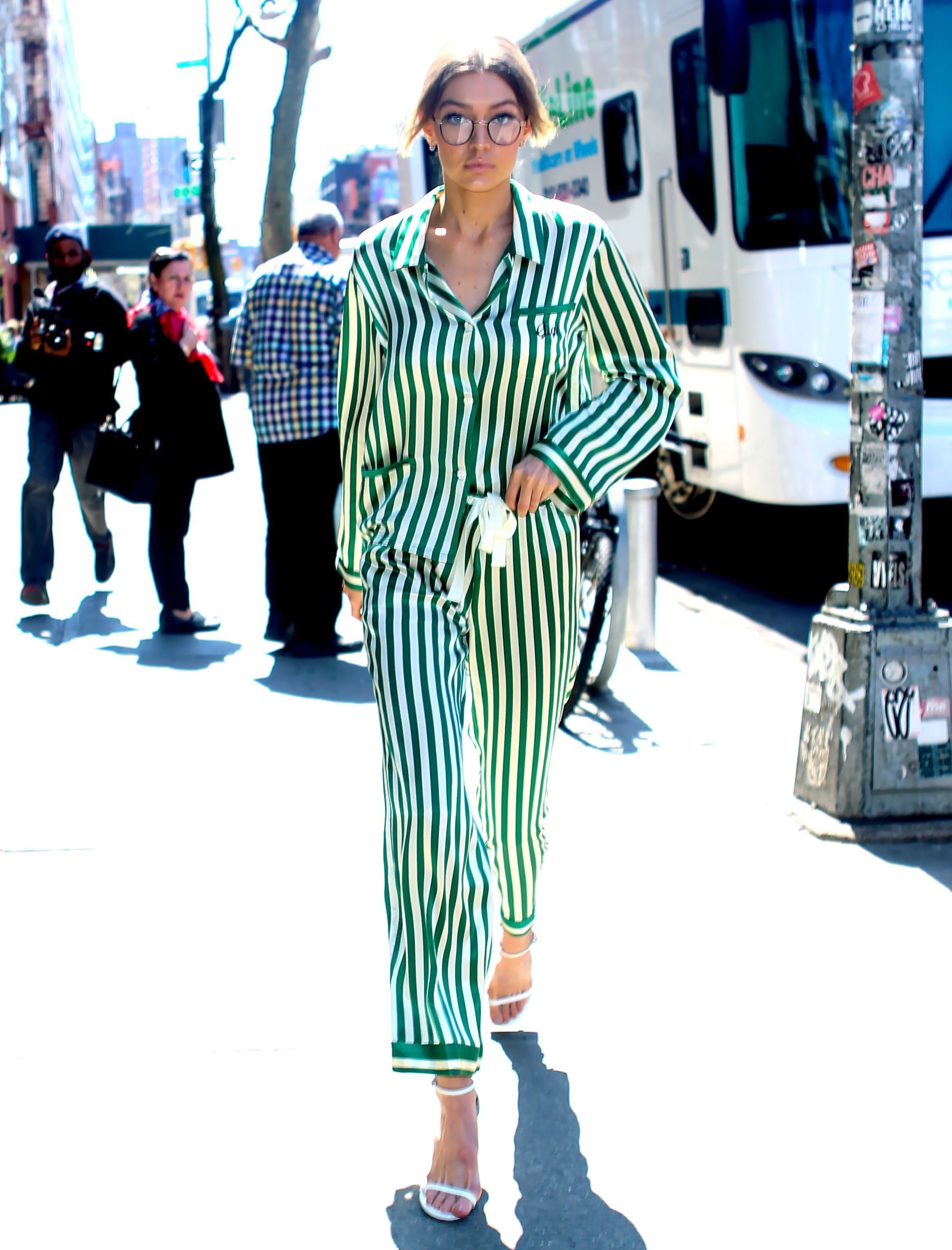 Gigi Hadid Steps Out In Pyjamas Proving Sadly She Is The Only Human Who Can Pull Them
