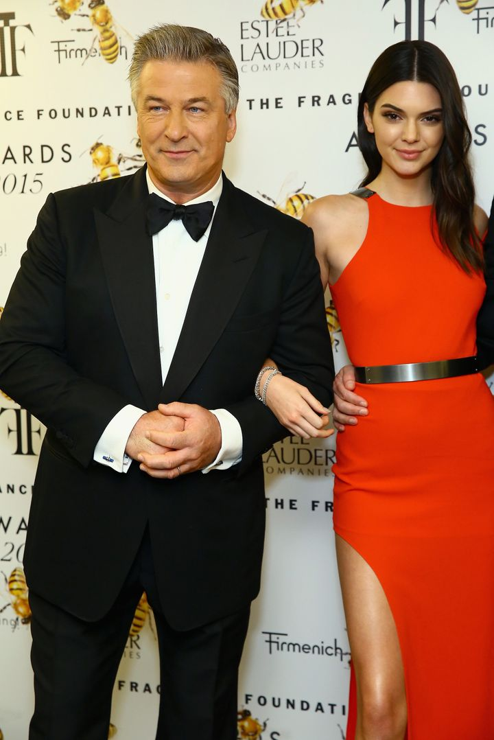 Baldwin, pictured with Jenner in 2015, said the model needed more time to develop the ability to make better decisions.