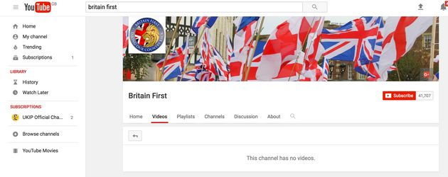 Britain First Hacked With Twitter, YouTube And Websites All