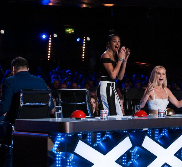 The judges couldn't quite believe what they were