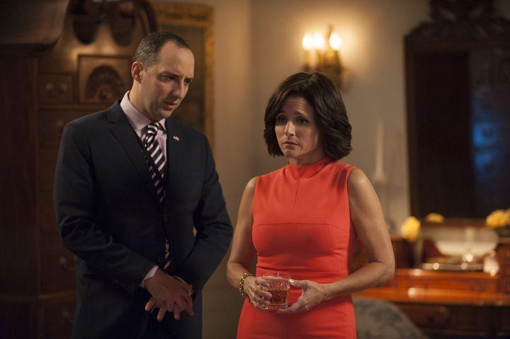 "Season 5 of ""Veep"" ends with Selina Meyer not winning the U.S. presidency."