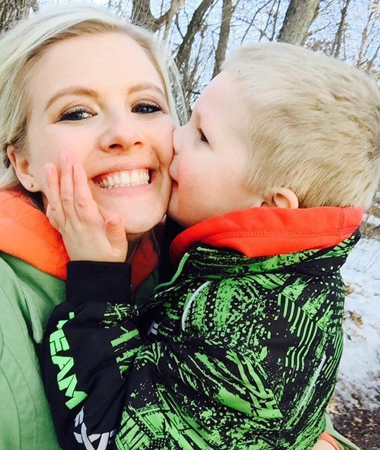 Kate Swenson's 6-year-old son, Cooper, has severe autism and is nonverbal. He loves listening to trains, jumping and being tickled.