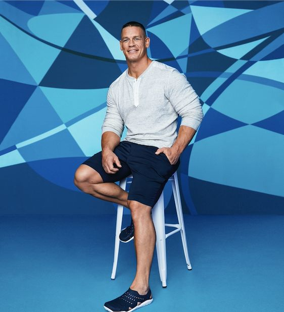 """John Cena joined the Crocs' """"Come As You Are"""" campaign to encourage kids to be comfortable in their shoes."""