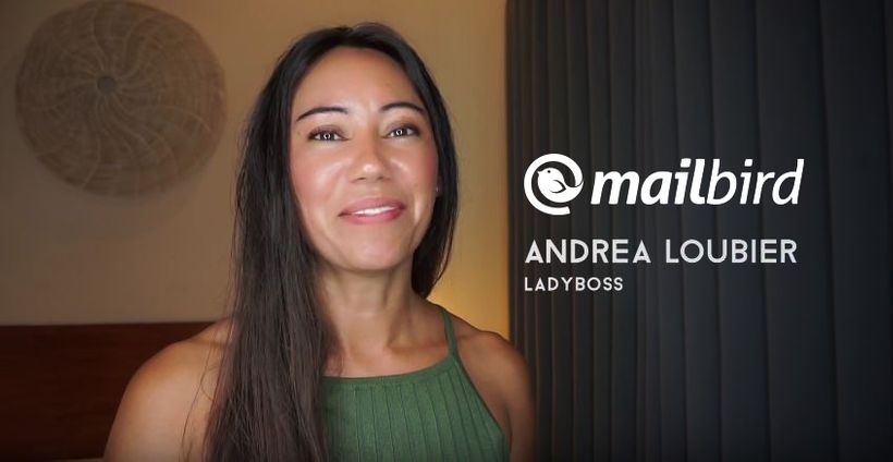 Andrea Loubier is the CEO of Mailbird
