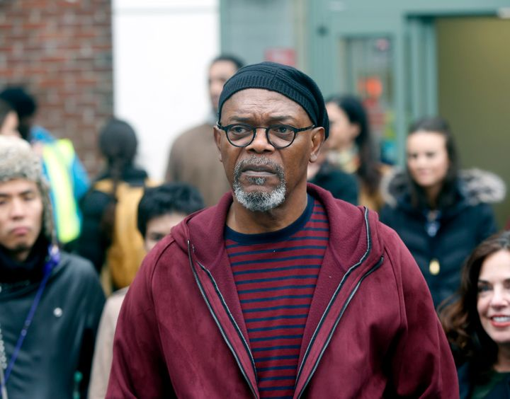 Samuel L. Jackson recorded an ad for the Democratic Party aimed at turning out black votersin a Georgia special electio