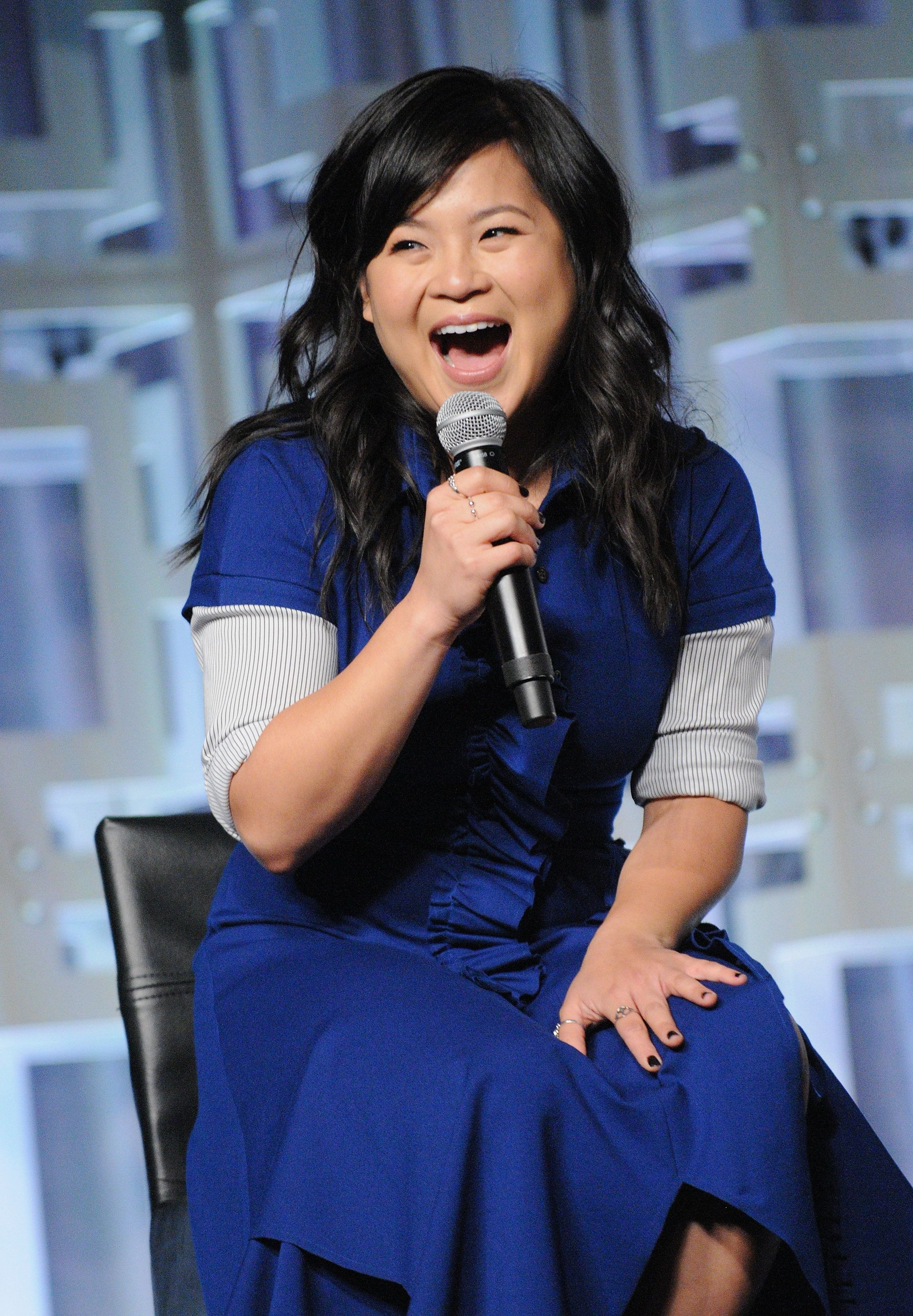 ORLANDO, FL - APRIL 14:  Kelly Marie Tran attends the Star Wars: The Last Jedi panel during the 2017 Star Wars Celebration at Orange County Convention Center on April 14, 2017 in Orlando, Florida.  (Photo by Gerardo Mora/Getty Images for Disney)