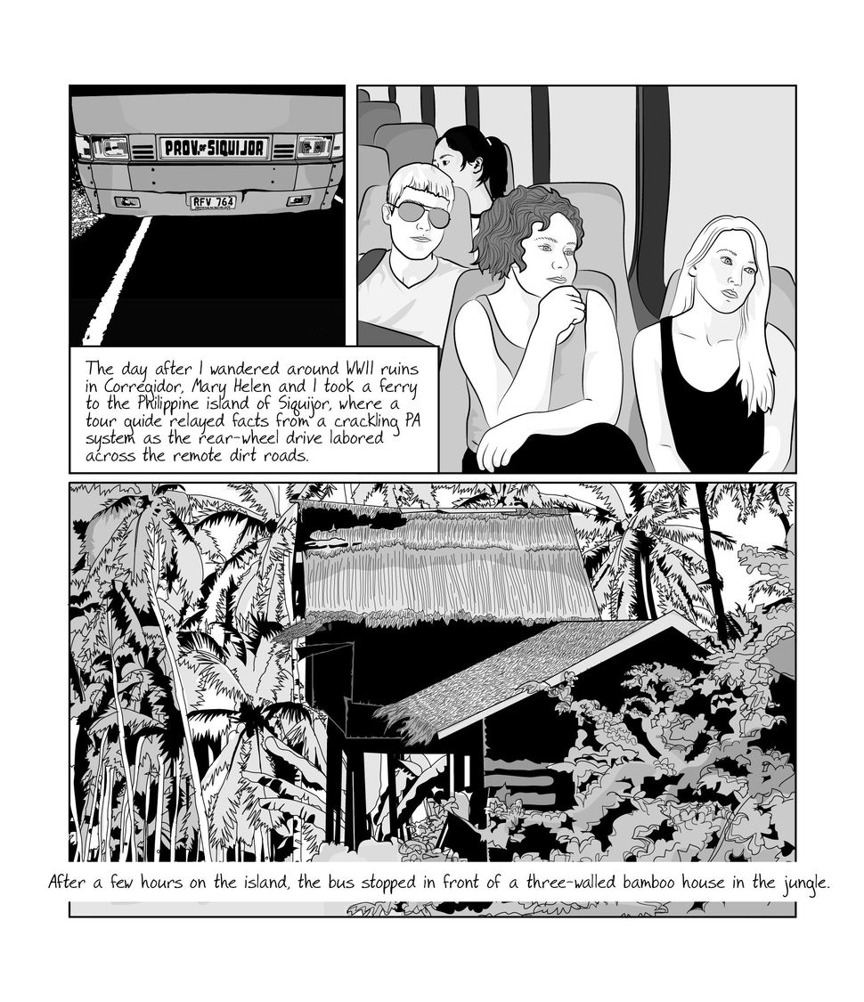 This New Graphic Novel Is A Stunning, Honest Meditation On Loss - Huffington Post 13
