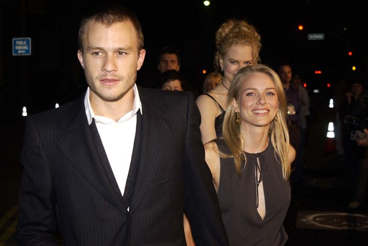 "Heath Ledger, Naomi Watts and Nicole Kidman during ""The Ring"" premiere."