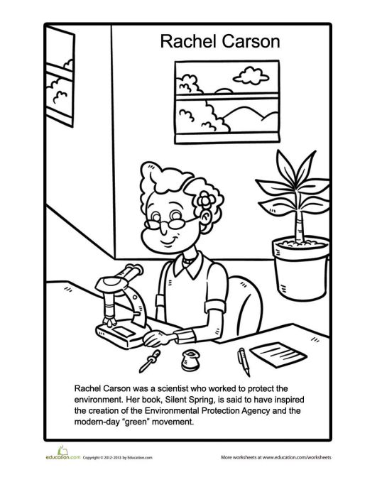 "Print for free at <a href=""https://www.education.com/worksheet/article/rachel-carson-coloring-page/"" target=""_blank"">Educatio"