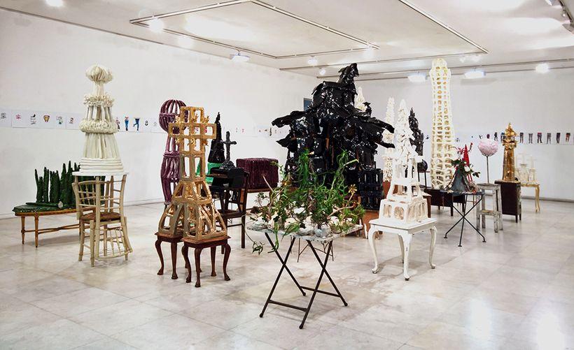 Nikos Tranos, White Power, installation view, Zoumboulakis Galleries, 2017. Courtesy of Zoumboulakis Galleries. Photo: Fotis