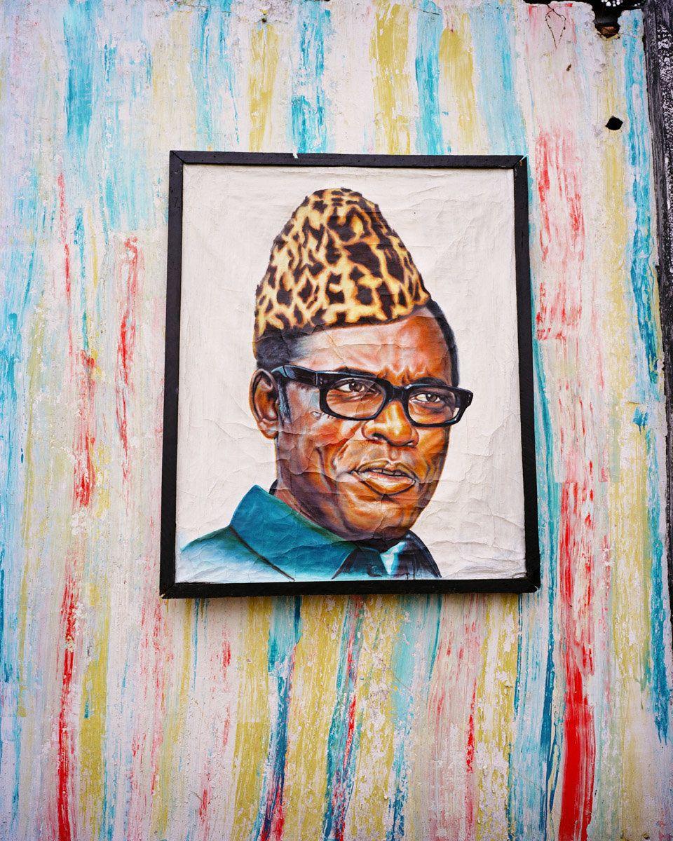 Mobutu, Kinshasa, Congo DRC, 2015