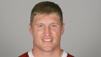 TEMPE, AZ - CIRCA 2011: In this handout image provided by the NFL, Todd Heap of the Arizona Cardinals poses for his NFL headshot circa 2011 in Tempe, Arizona. (Photo by NFL via Getty Images)