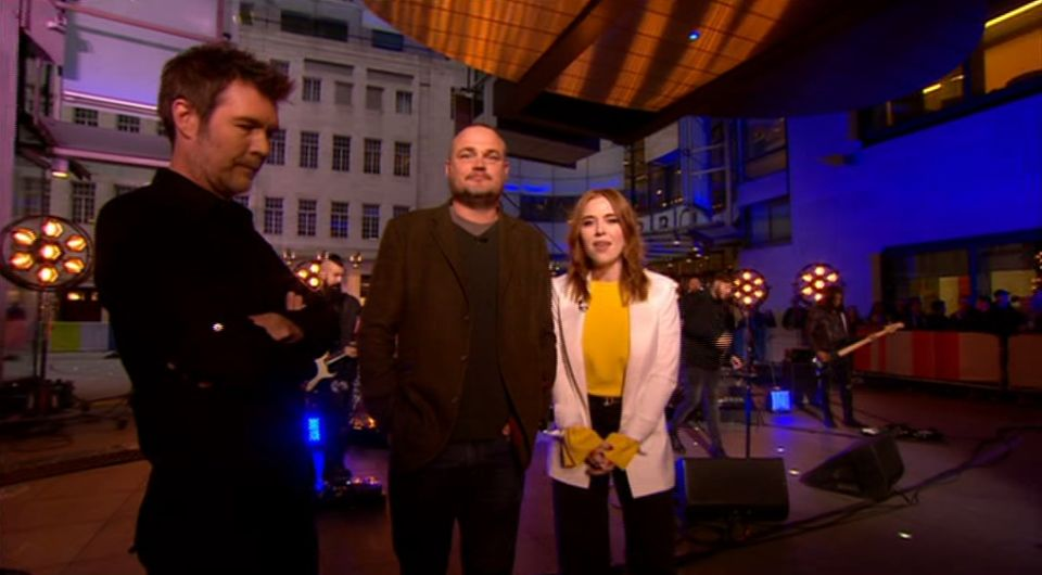 Angela Scanlon Took A Tumble On 'The One Show', But You Probably Didn't