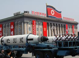 North Korea Flaunts Long-Range Missiles In Massive Parade
