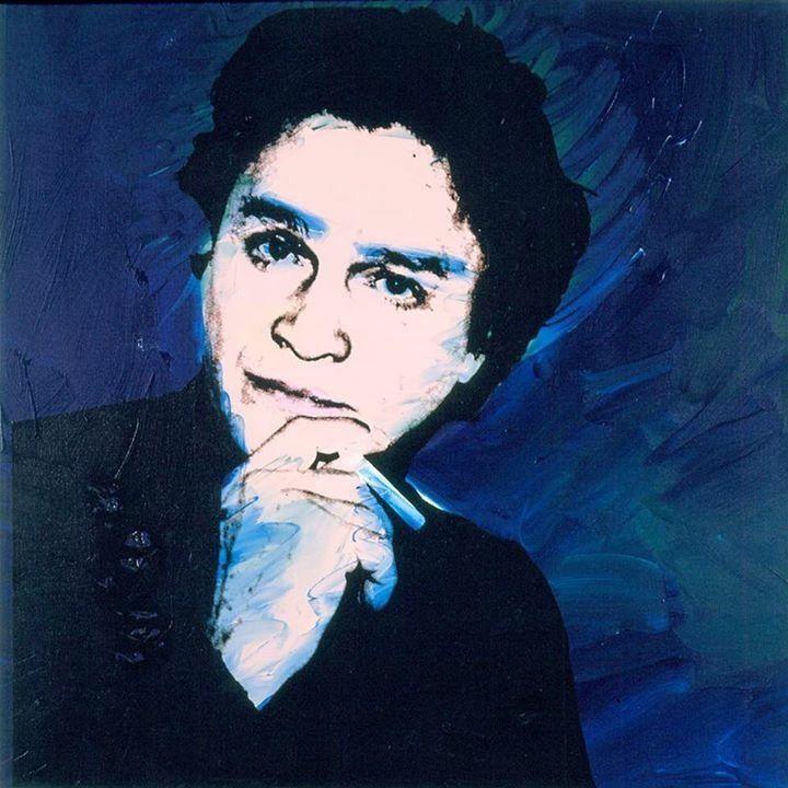 Portrait of Alexander Iolas by Andy Warhol
