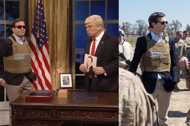 Which one wears it better? Jimmy Fallon or Jared Kushner?