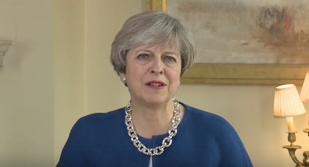 Theresa May used her Easter address to talk up 'a sense of unity'