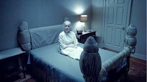 "A still image from the iconic film ""The Exorcist"""