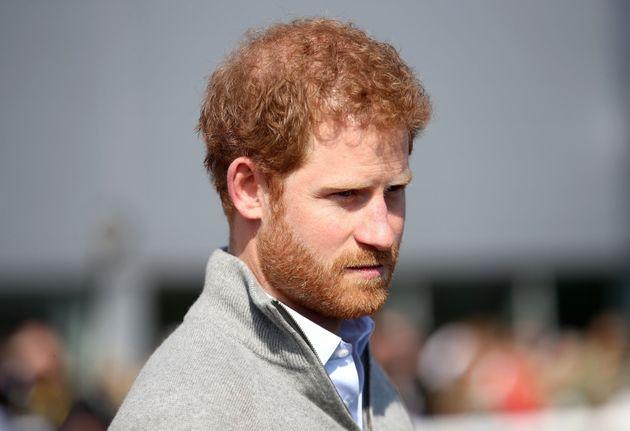 Prince Harry said he had his