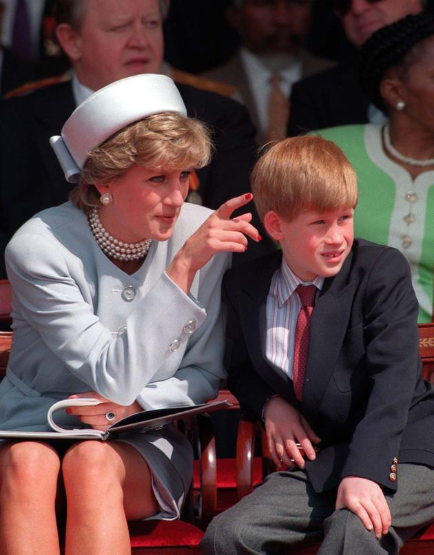 Prince Harry Sought Counselling After 'Total Chaos' Caused By Princess Diana's