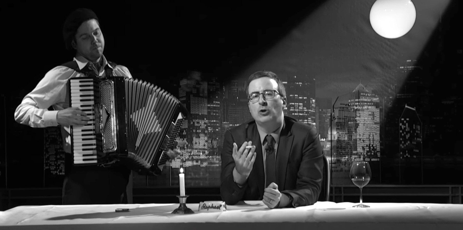 John Oliver Warns France: 'Don't 'F**k Up' And Elect A French