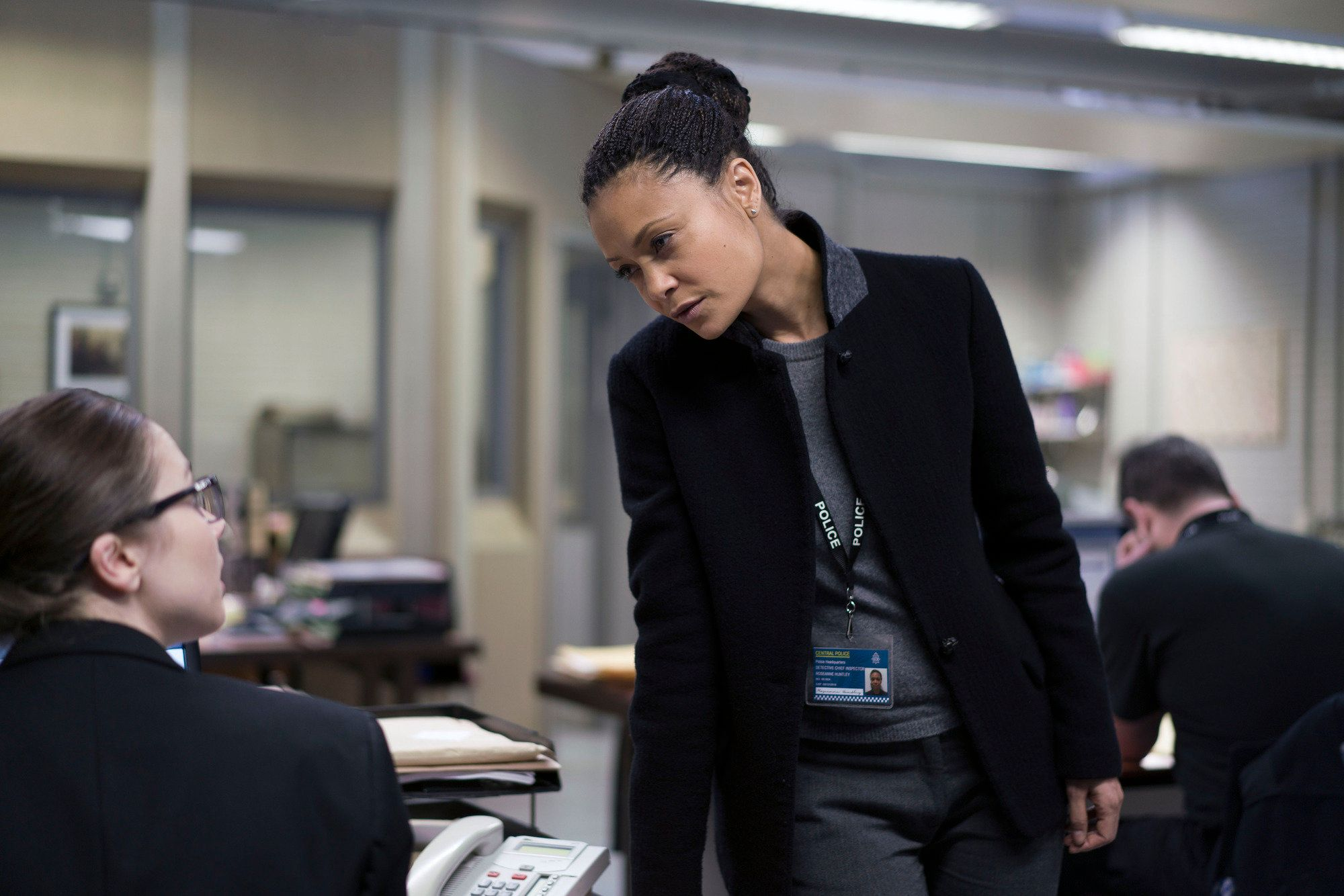 Roz Huntley (Thandie Newton) successfully turned the tables on