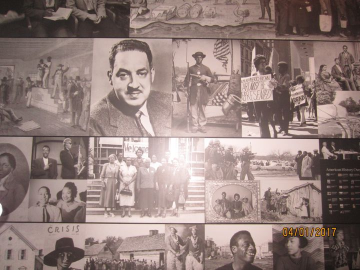 Black History photo montage from the Smithsonian National Museum of African American History and Culture in Washington DC