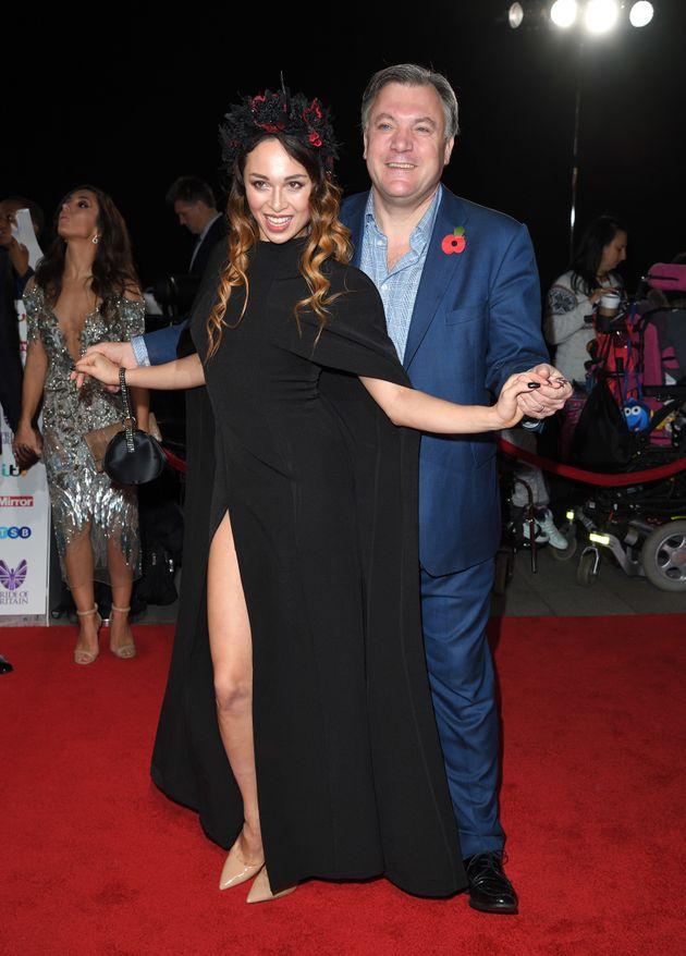 Ed and Katya at the Pride Of Britain