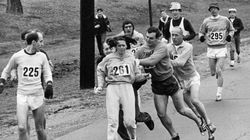 First Woman To Complete Boston Marathon Runs Again 50 Years