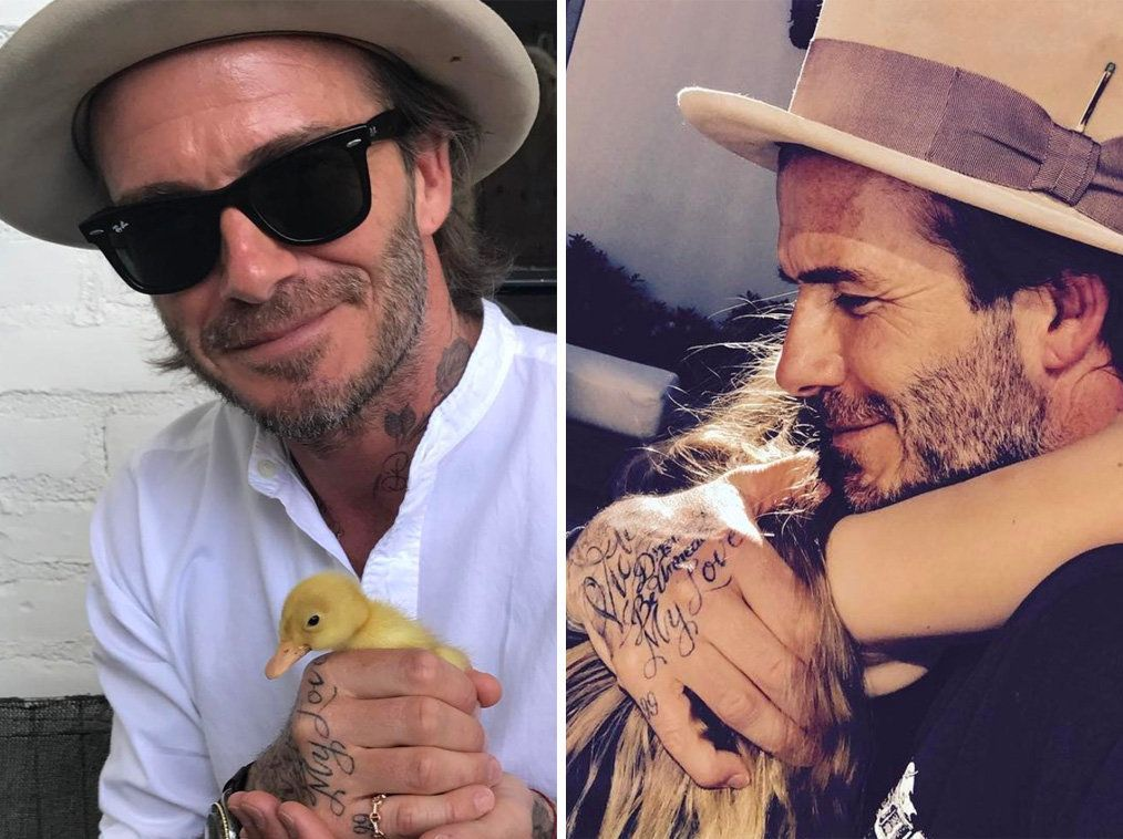 The Beckhams' Easter Photos Are Giving Us Total Family