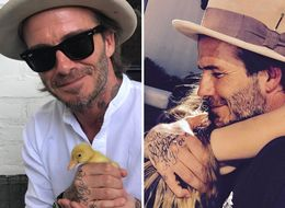The Beckhams' Easter Photos Are Giving Us Total Family Goals