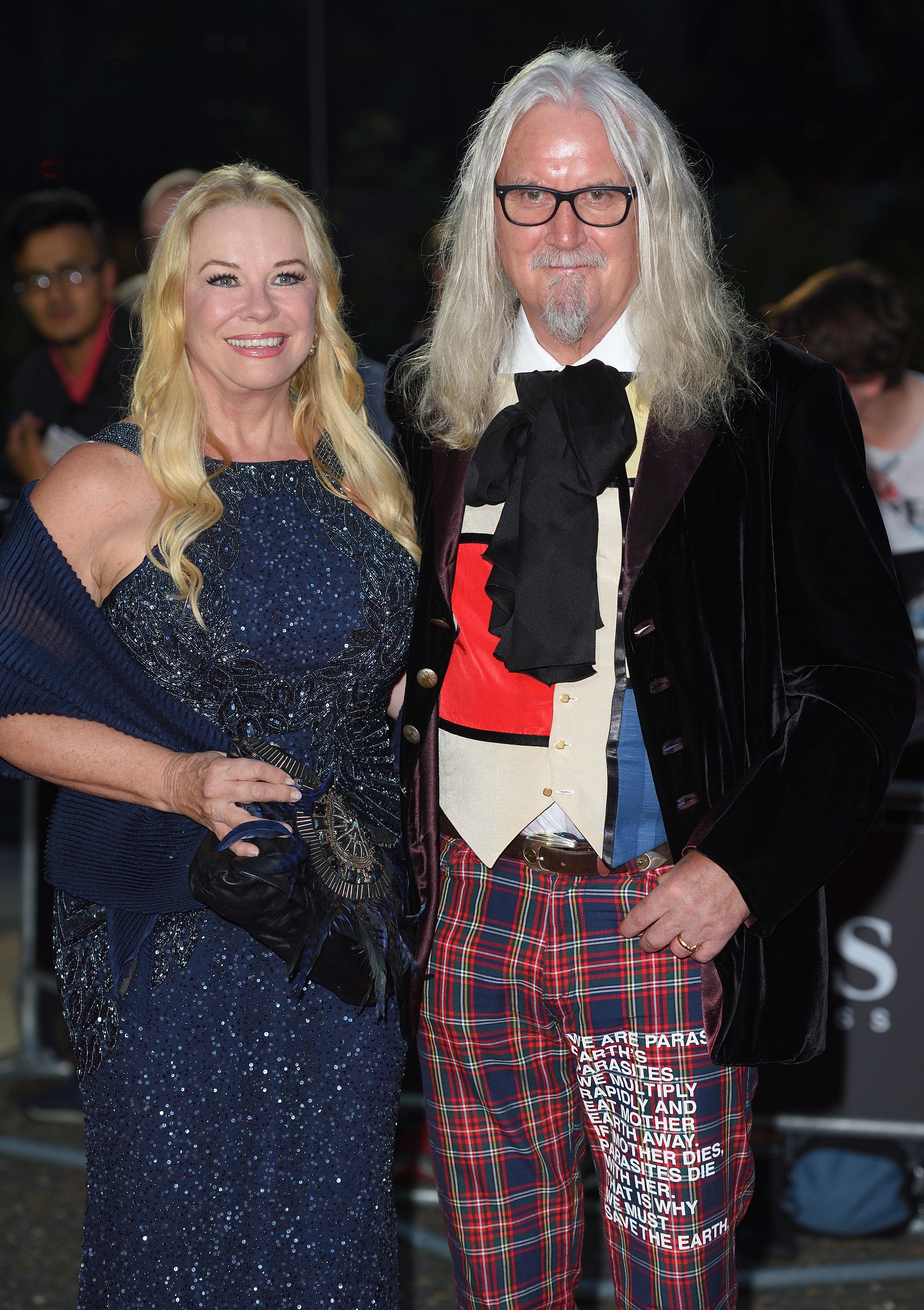 Pamela Stephenson and Billy