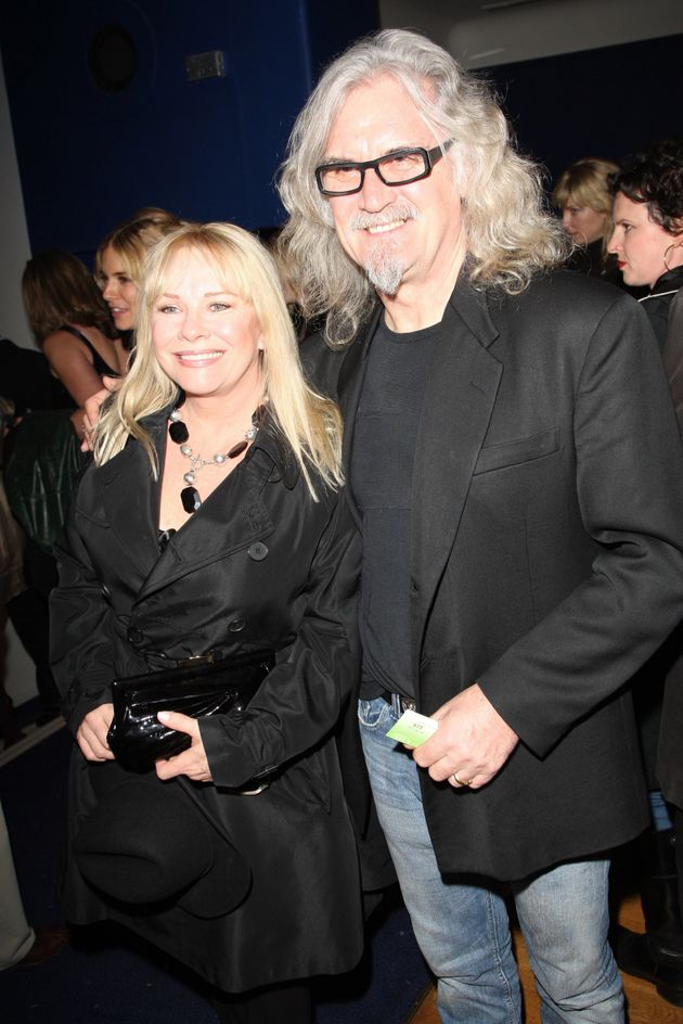 Pamela and Billy at an event in