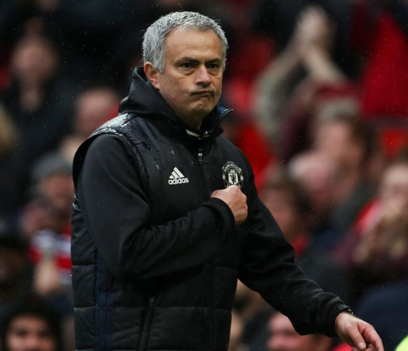 Mourinho shows United fans where his heart lies- with them.
