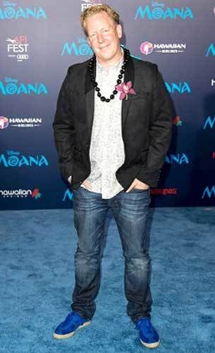 "Screenwriter Jared Bush at the ""Moana"" premiere"