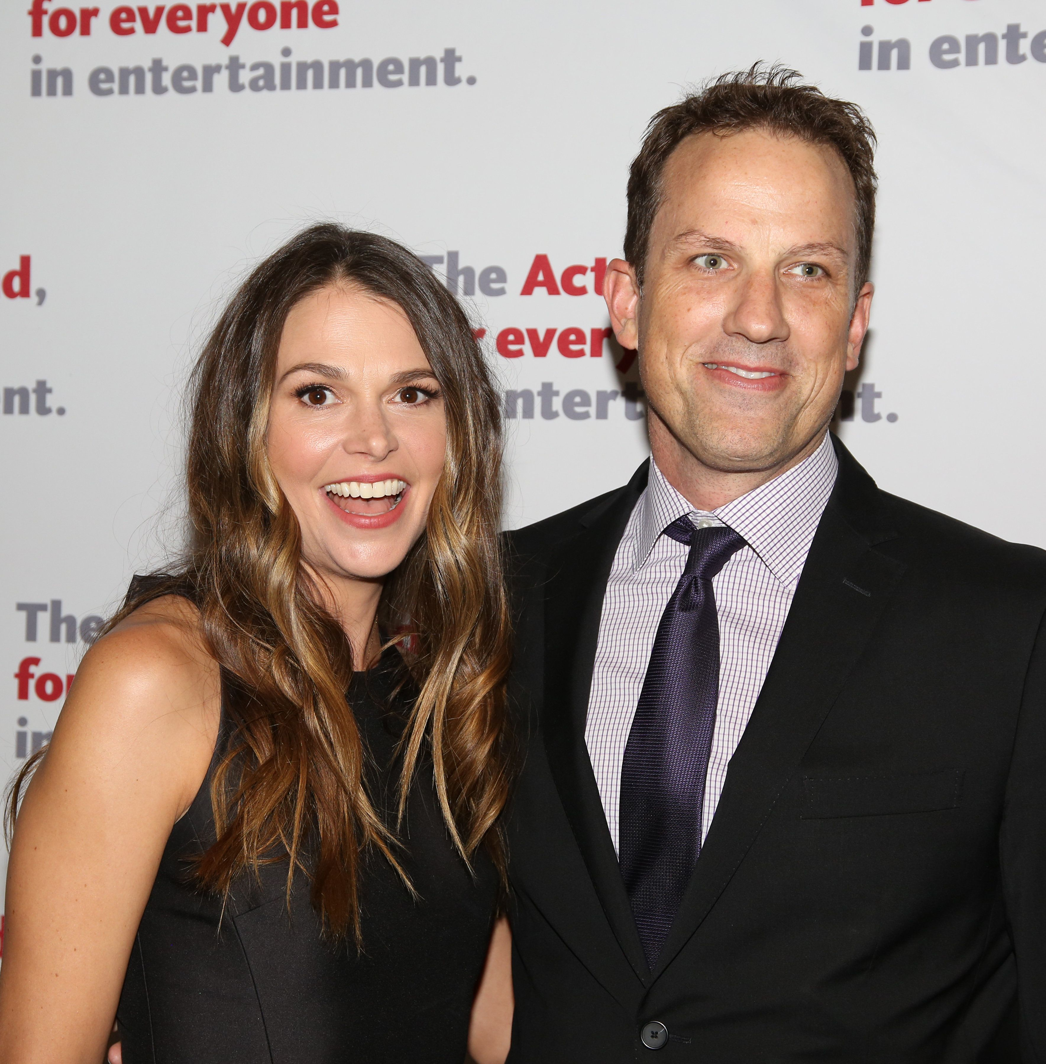 Tony award-winning actress and singer Sutton Foster and screenwriter Ted Griffin announced they adopted a baby girl. They've