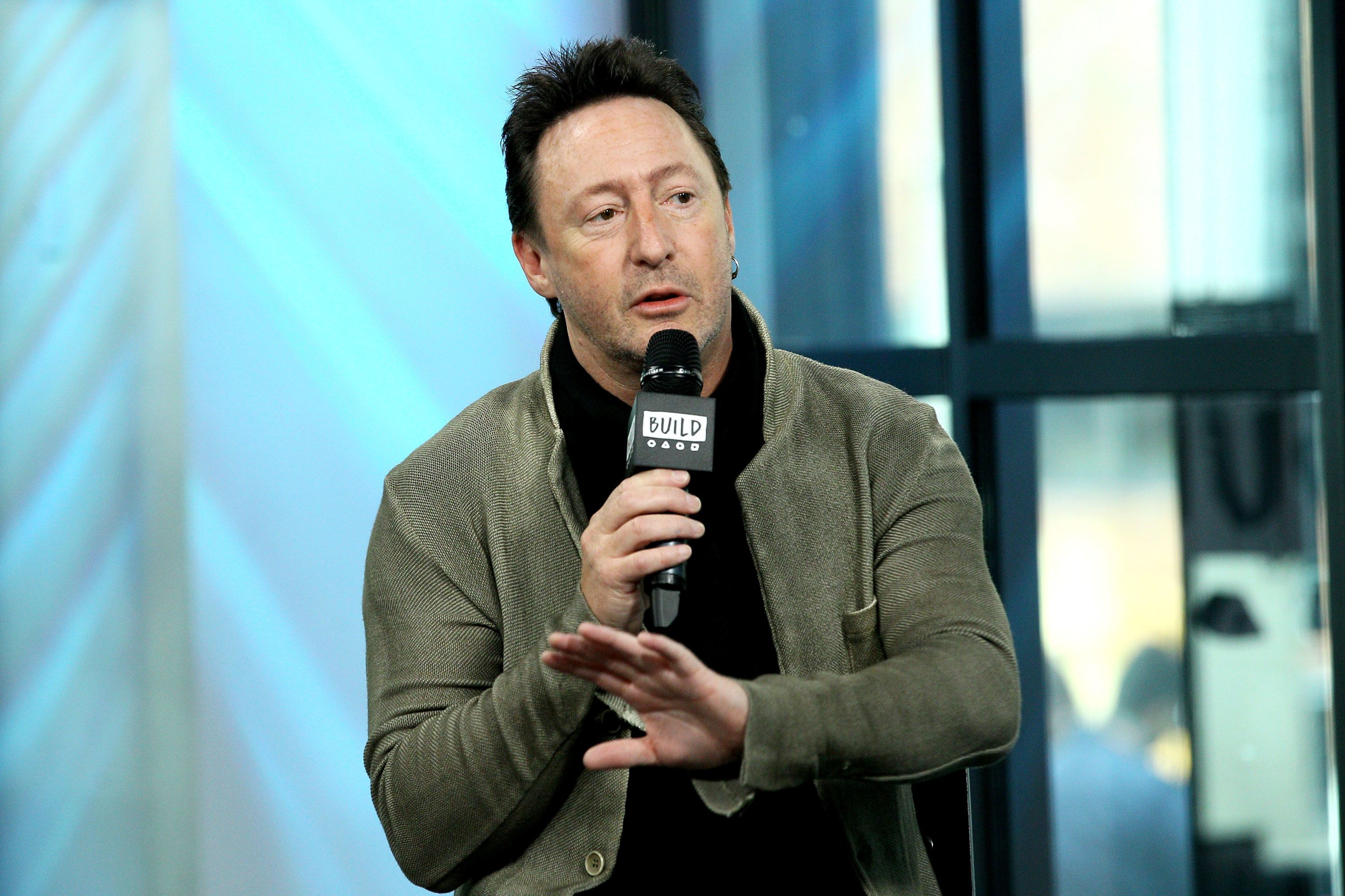 NEW YORK, NY - APRIL 13:  Build Series Presents Julian Lennon Discussing 'Touch the Earth' at Build Studio on April 13, 2017 in New York City.  (Photo by Steve Mack/FilmMagic)