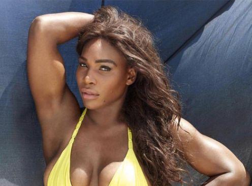 Serena Williams Posts Bikini Picture 'Just
