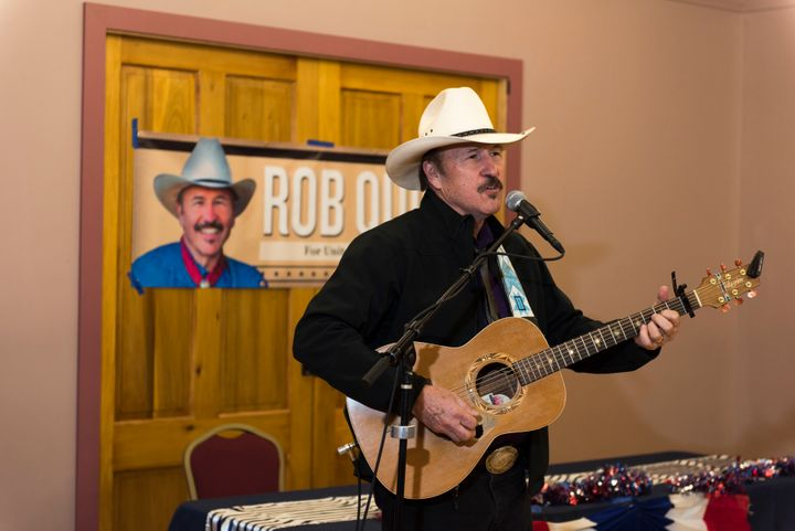 Montana Democrat Rob Quist campaigns on March 10, 2017 in Livingston, Montana. Quist is campaigning for the House of Represen