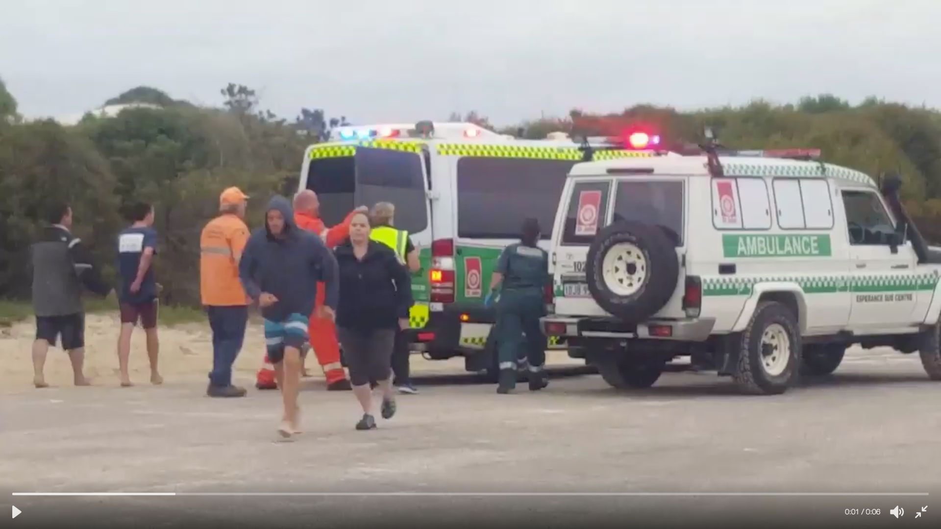 A 17-year-old died after being attacked by a shark in Western Australia on Sunday