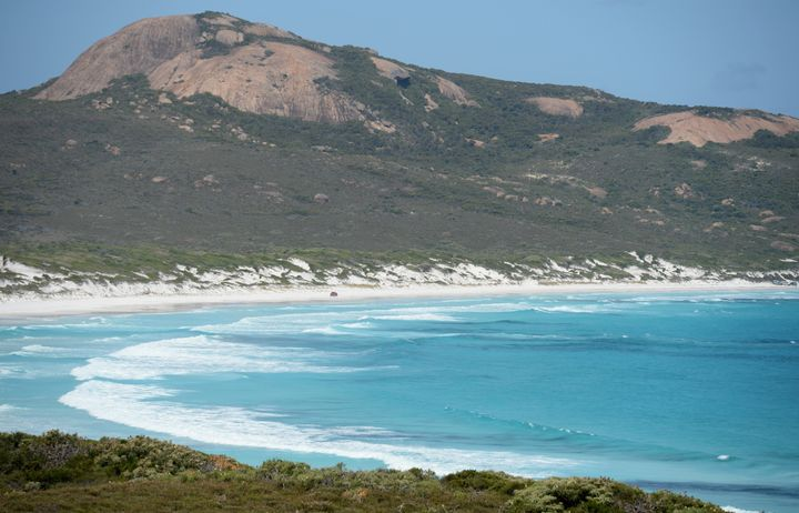 The teen was surfing near the town of Esperance, in Western Australia, when she was attacked, authorities said.