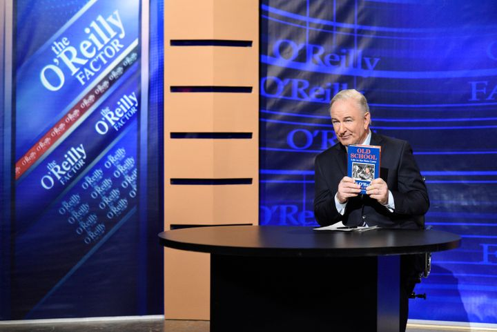 "Alec Baldwin played Bill O'Reilly in a recent episode of ""Saturday Night Live."""