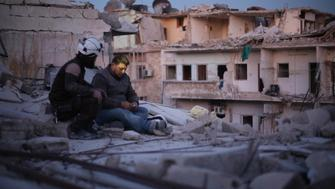Khalid appears in <i>Last Men in Aleppo</i> by Feras Fayyad and Steen Johannessen, an official selection of the World Cinema Documentary Competition at the 2017 Sundance Film Festival. Courtesy of Sundance Institute.