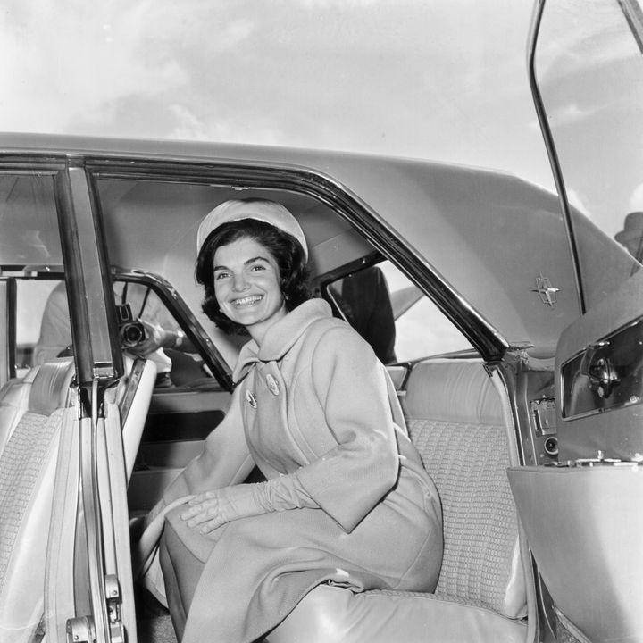 Jackie Kennedy in 1961.