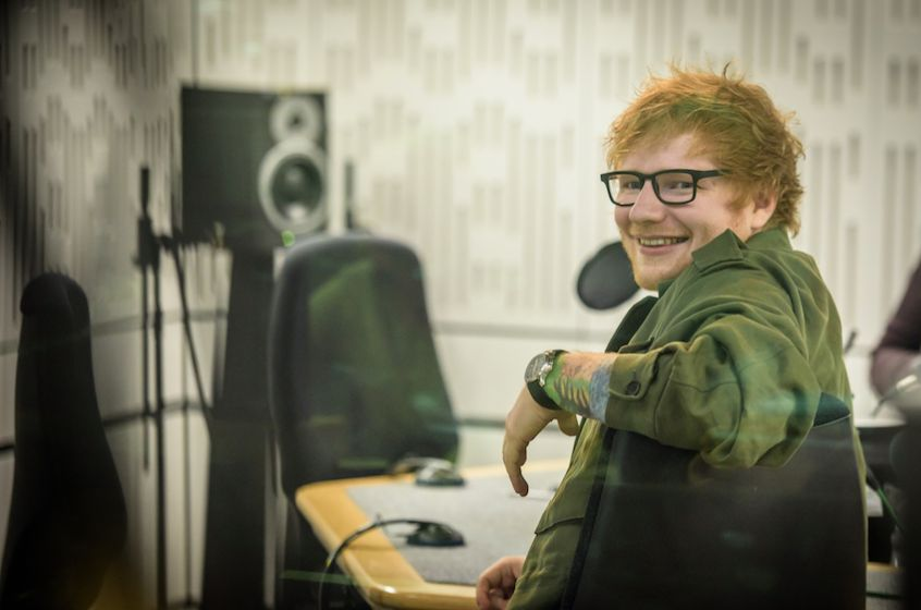 Ed will join other musical superstars in choosing his eight favourite ever