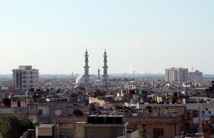 A prewar shot of Homs, Syria, in 2011.