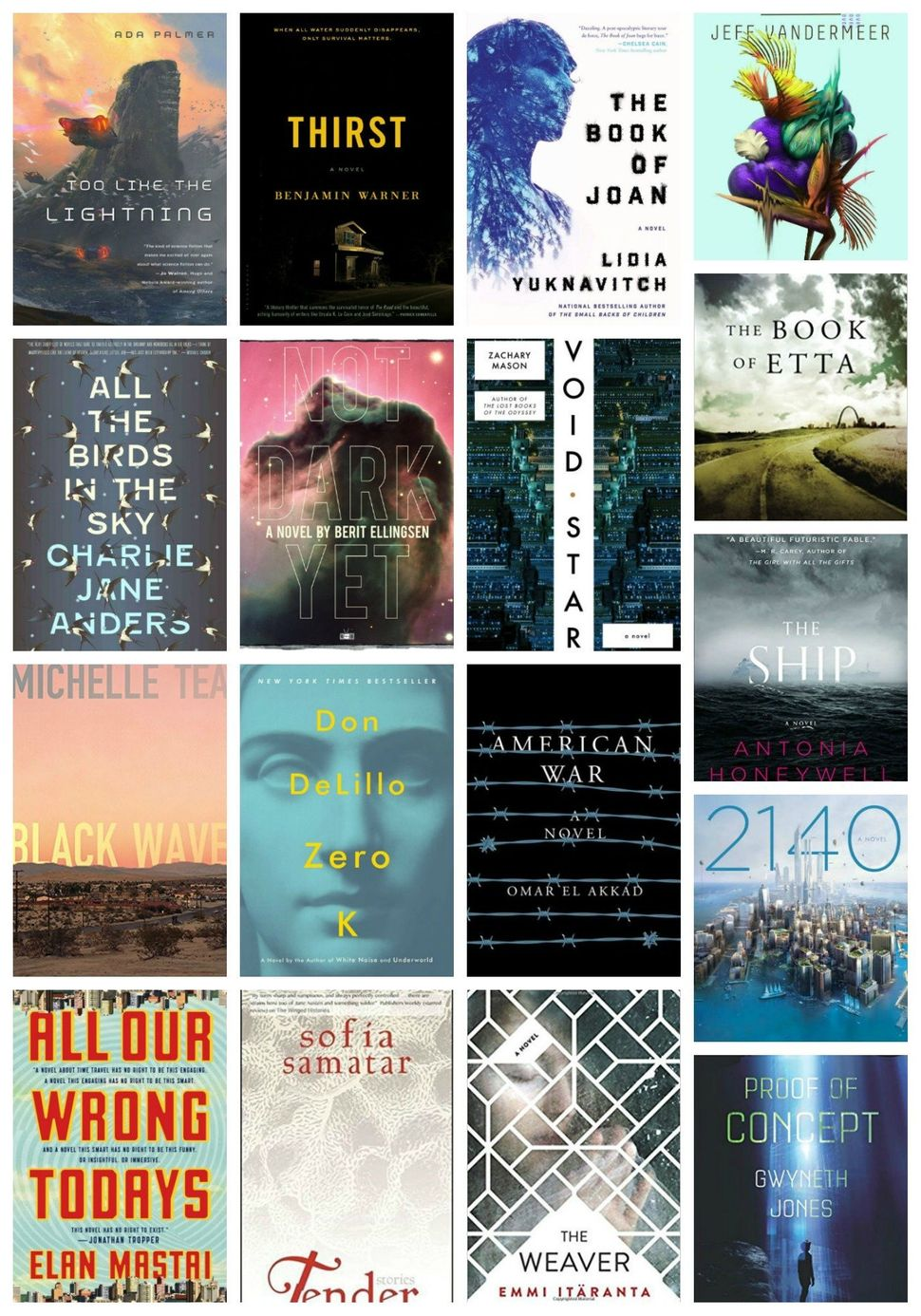 17 Spine Tingling New Books For Fans Of Dystopia Huffpost