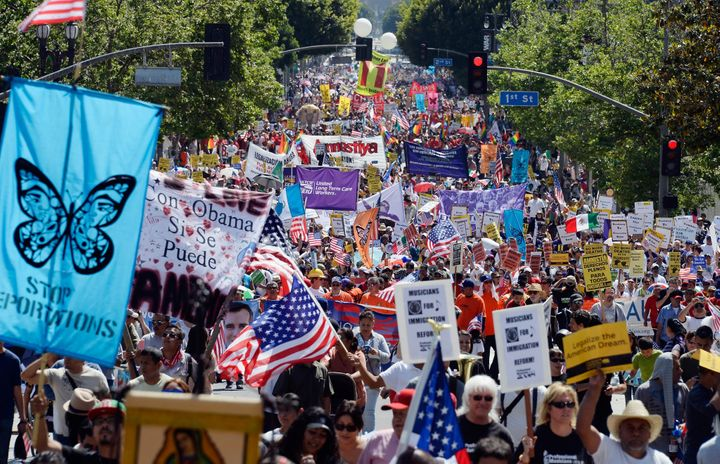 2006 immigrant rally on May Day